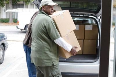 Thanksgiving Box Distribution