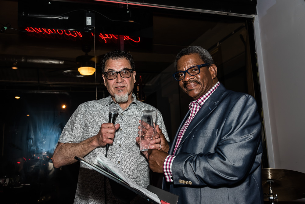 Rev. Andrews receives Jazz Hero Award