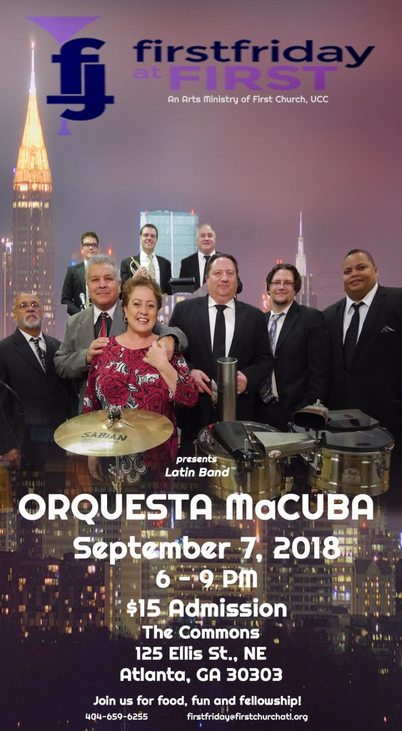 First Friday at First September 2018 Event Featuring Orquesta MaCuba