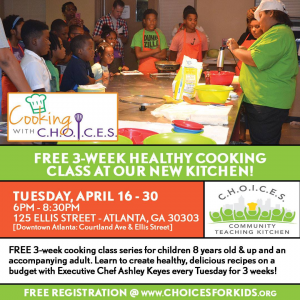 Cooking with CHOICES @ First Church - The Commons