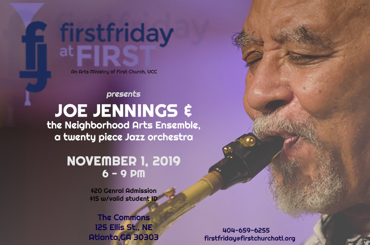 Joe Jennings to Headline November 2019 Edition of First Friday at First