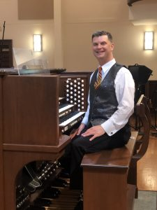 "First Church Presents - ""A Midweek Musical Meditation"" with Organist Trey Clegg @ Live Stream"