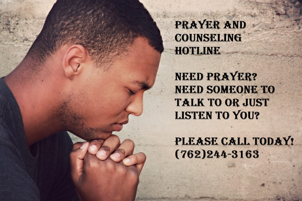 PRAYER AND COUNSELING HOTLINE