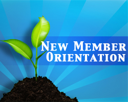 New Members Orientation via Zoom