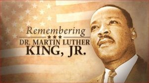 Office Closed in Observance of Dr. Martin Luther King, Jr. Day