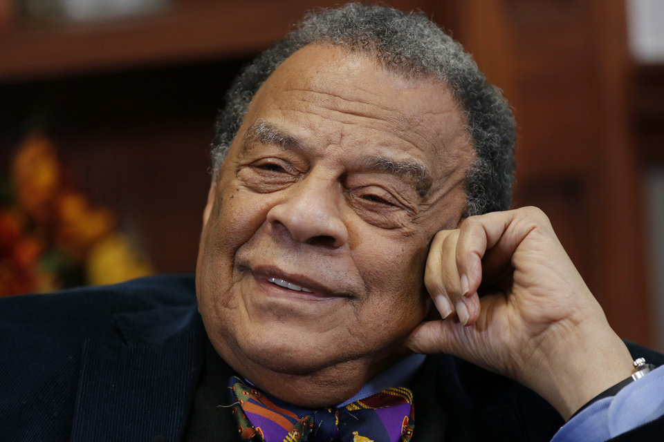 First Church Worship – Ambassador Andrew Young, Preaching – April 18, 2021