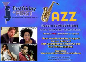 Virtual First Friday at First - Mike Walton